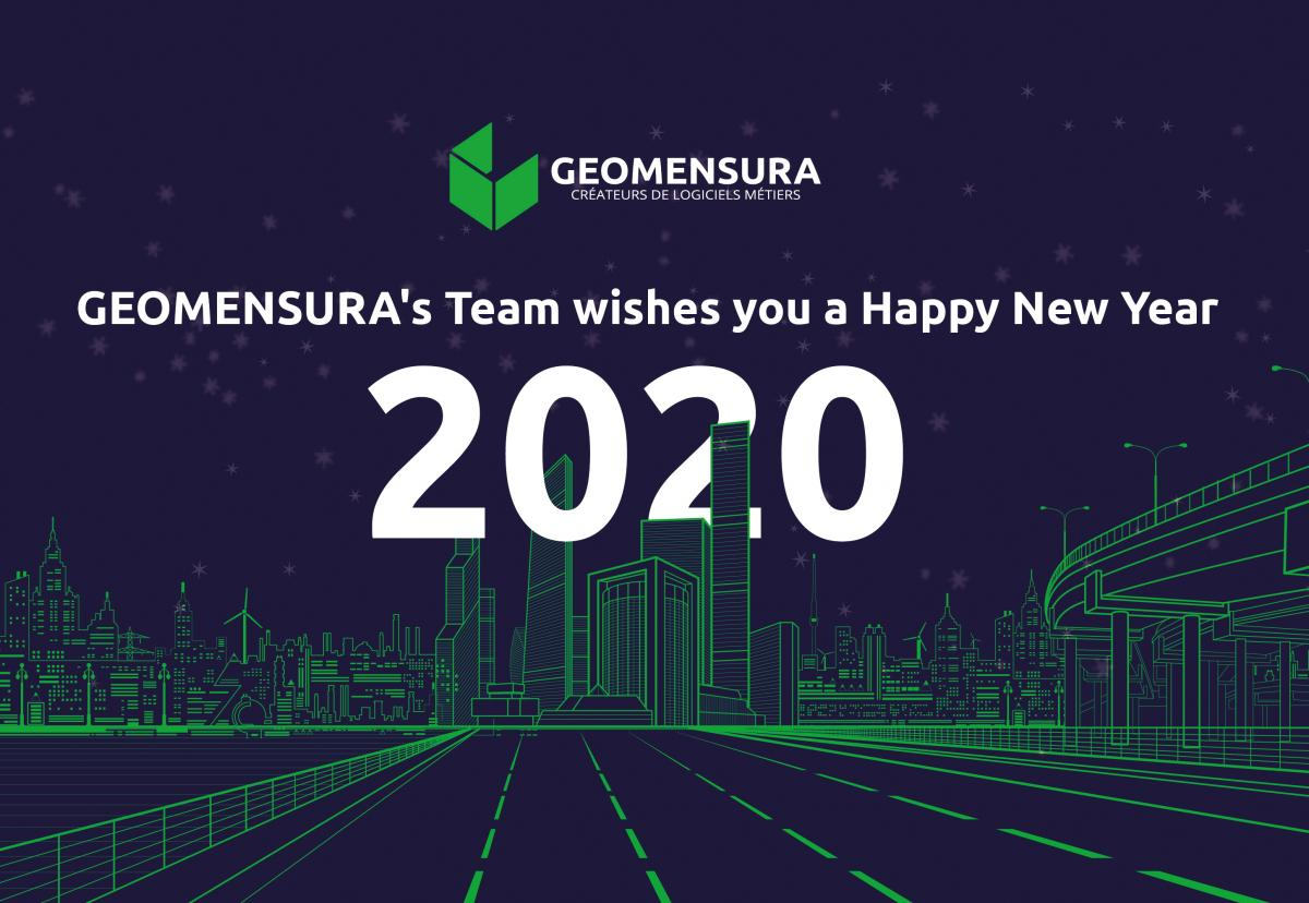 Best wishes and Happy New Year from GEOMENSURA
